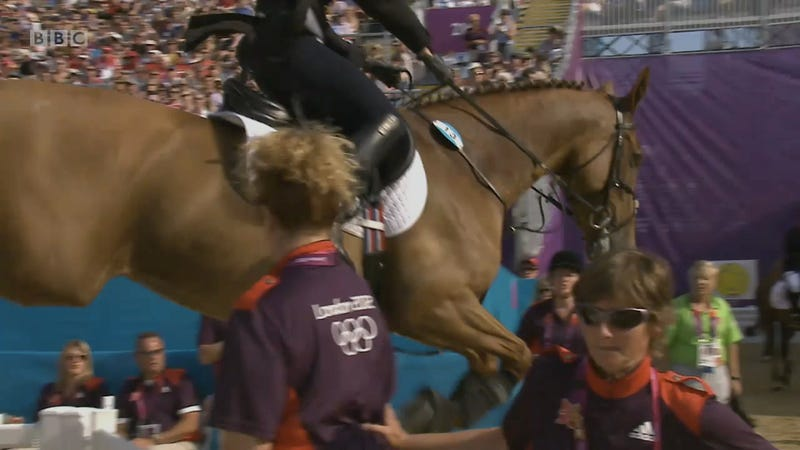 This Horse Was Ready For The Olympics To Be Over