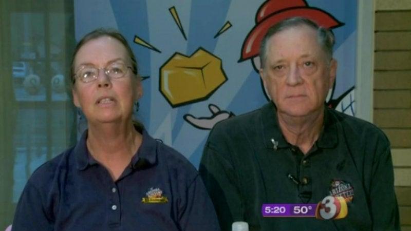 Lucky, Bored Arizona Couple Win Their Second Million Dollar Lotto