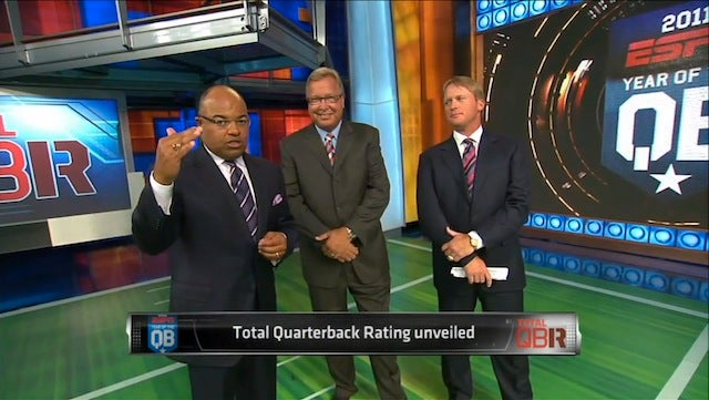 Total QB Rating: Everything Great About ESPN Multiplied By Everything Insufferable