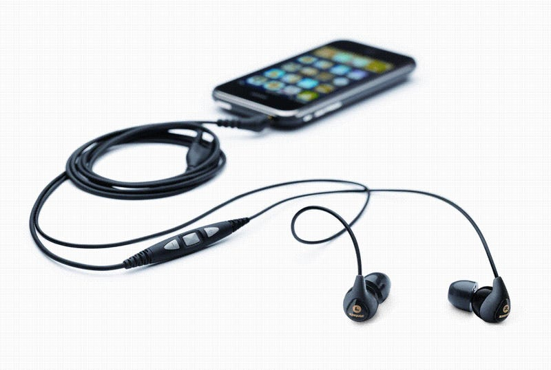 Shure Sound Isolating SE115m+ Headset For The iPhone Has 3 Buttons To Rule Them All