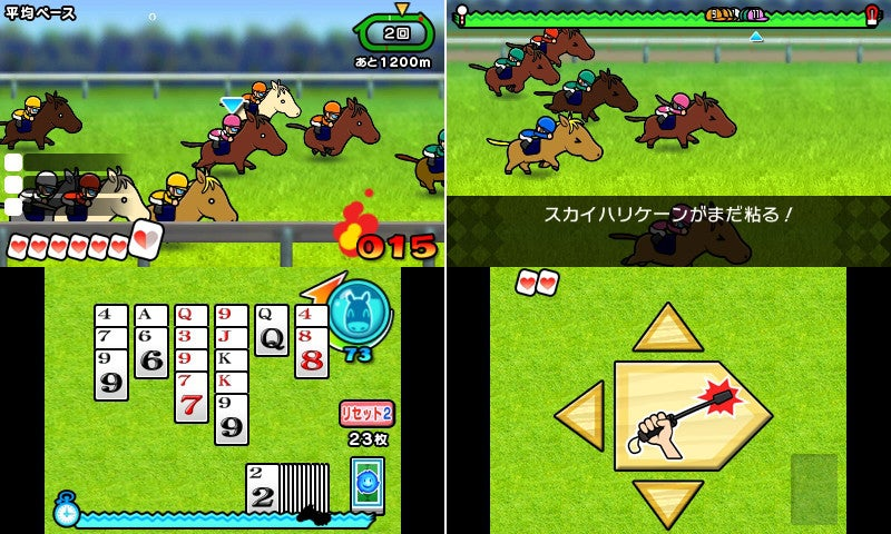 Pokémon Developer's New Game Crosses Horse Racing and... Solitaire