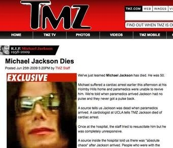 LA Times: 'What If TMZ Got Michael Jackson's Death Wrong?'