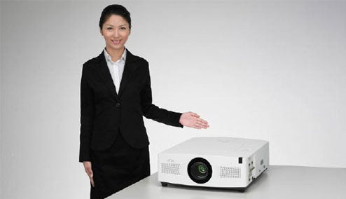Sanyo LP-XTC50 Projector Uses Lamp Switching Powers to Last 6000 Hours