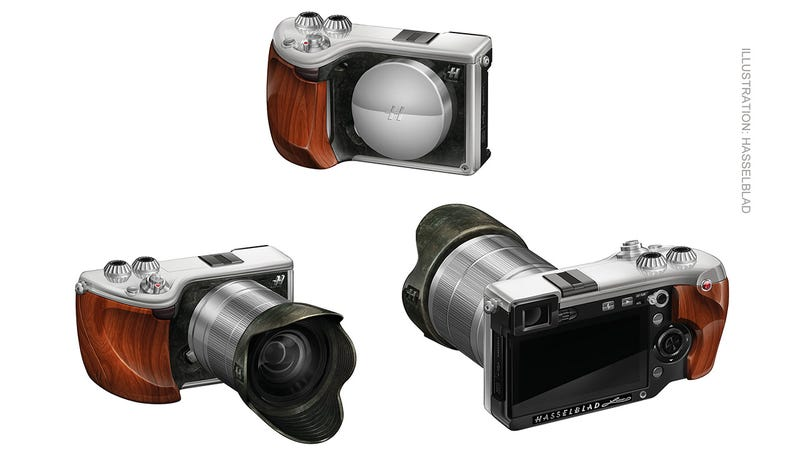 Hasselblad's Ridiculously Expensive Mirrorless Camera At Least Looks the Part (UPDATED)