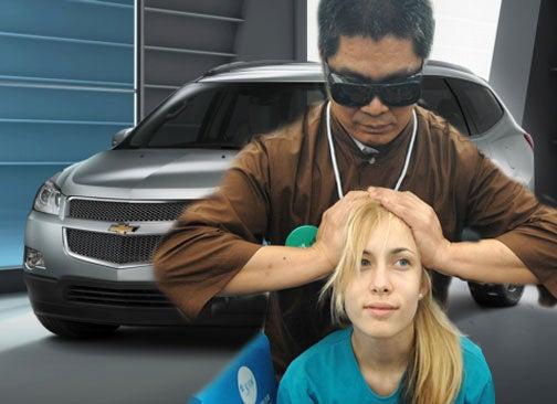 Test Drive A Chevy Traverse, Get A Massage