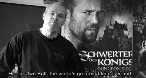 Watch Uwe Boll: The Movie Right Now