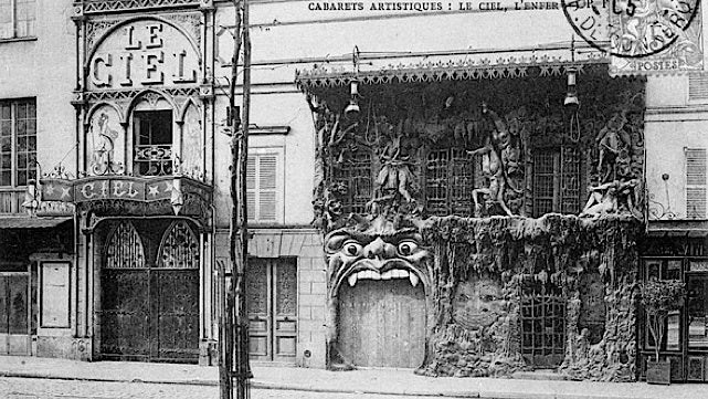 The awesomely insane Heaven and Hell nightclubs of 1890s Paris