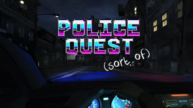 Guys, Police Quest Is (Basically) Back