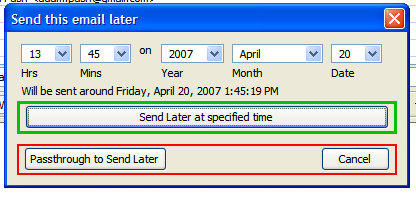 Download of the Day: Send Later (Thunderbird)