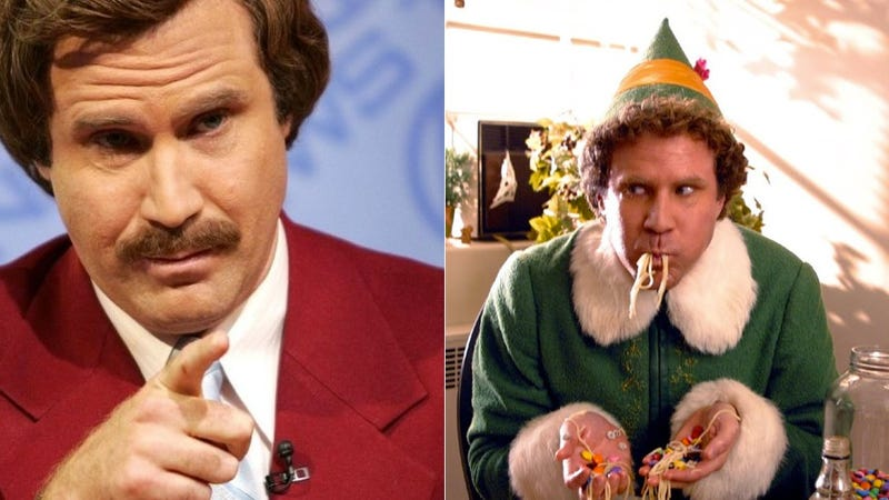 Buddy The Elf Would Like A Word With Ron Burgundy