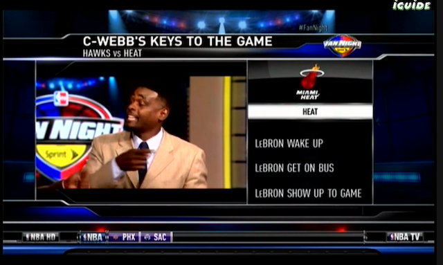 "Finally, A ""Keys To The Game"" Segment That Makes Sense"