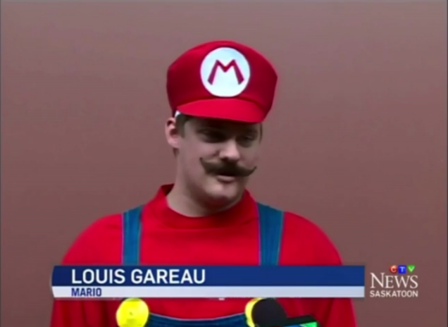 Charity Creates Life-Sized Super Mario For Boy Battling Cancer