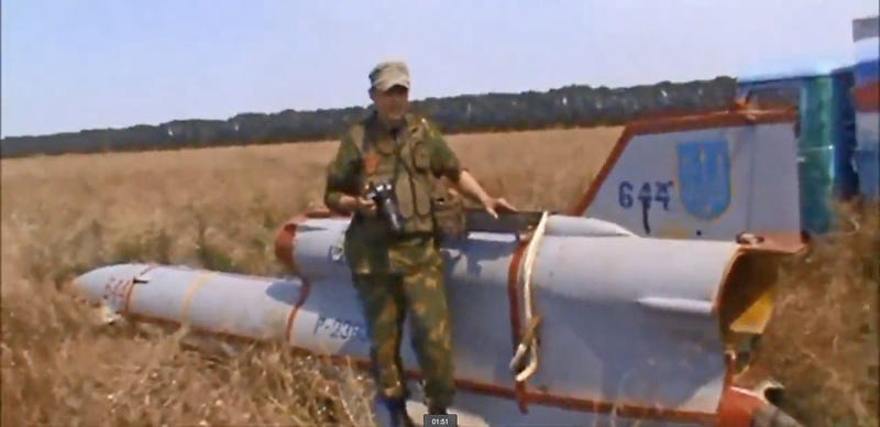 Pro-Russian Rebels Find Soviet-Era High-Speed Spy Drone