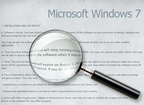 Giz Explains: The Windows 7 Beta Fine Print