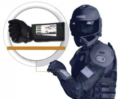 The Flexible, Solar-Powered Wrist Displays of War
