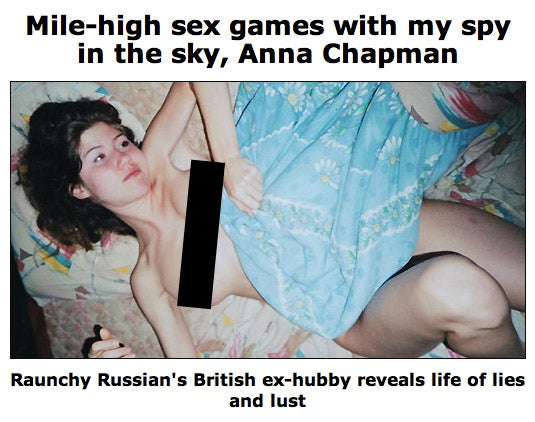 The Topless Pictures of the Sexy Russian Spy You've Been Waiting For