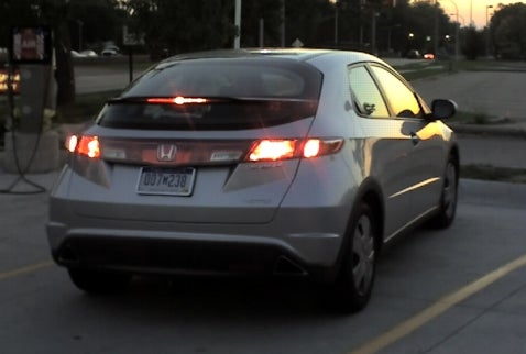 Euro Honda Civic Spotted in Detroit