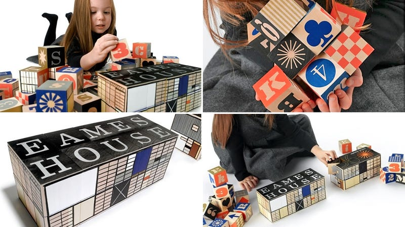 "Eames House Alphabet Blocks: M Is For ""Make Your Kids Cooler"""