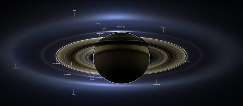 The definitive photo of Saturn