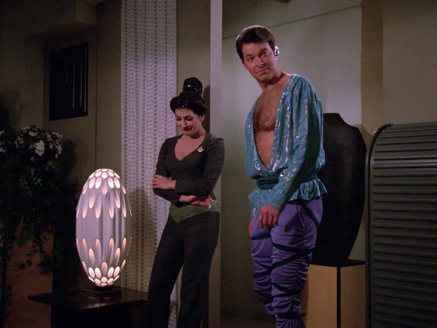 Los trajes más locos e increíbles de Star Trek: La nueva generación