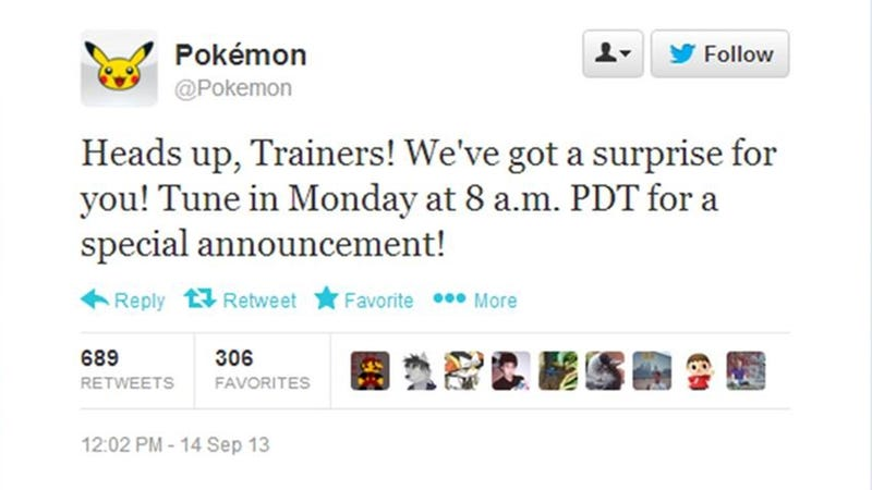 Looks Like Pokémon Announcements Are Blasting Off Again