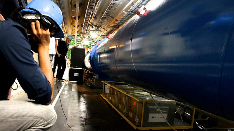 Listening to the Secret Sounds of the Large Hadron Collider