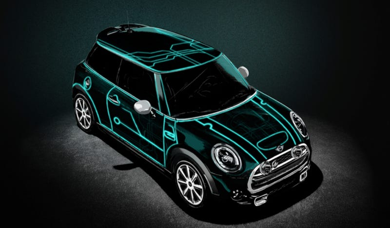 Mini Made A Tron-Like Car Because It's What The People Wanted