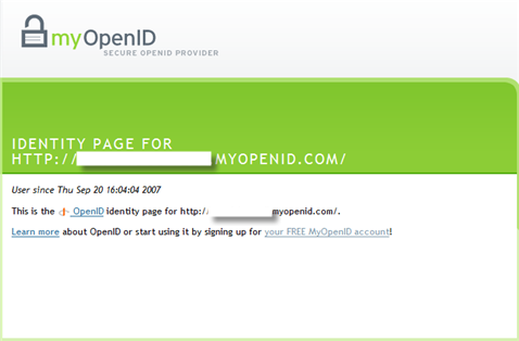 One OpenID to Rule Them All...or Not?