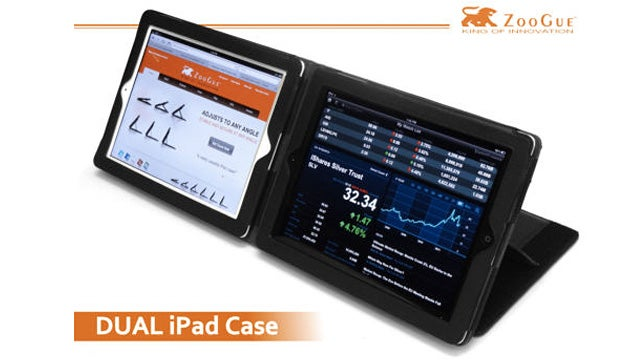 Dual iPad 2 Case Will Vastly Improve Your Multitasking