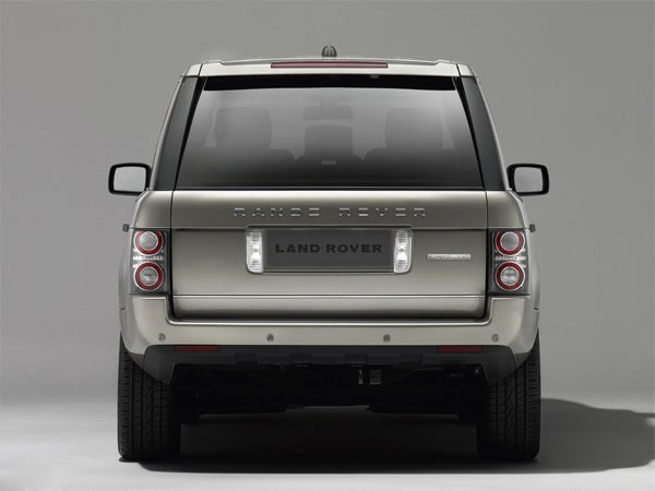 2010 Range Rover Gets World's Largest TFT Display