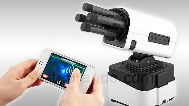 Desktop Missile Launcher Puts Firing Control On Your iPhone