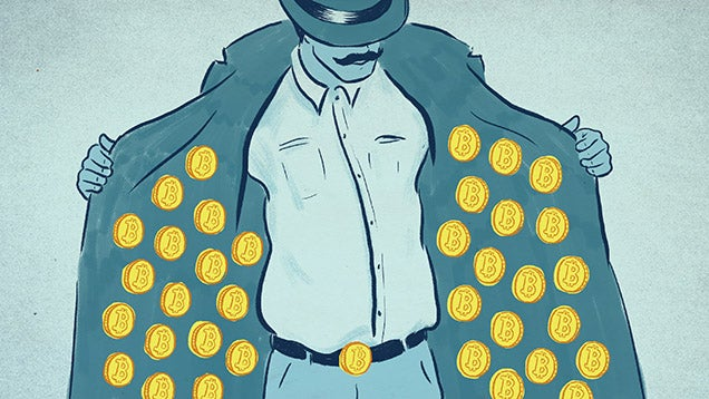 The Street Dealers Who Peddle Bitcoin