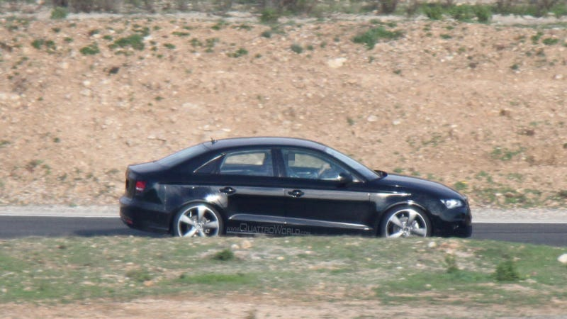 2014 Audi A3 Sedan Spotted, Is Sufficiently Audi-y