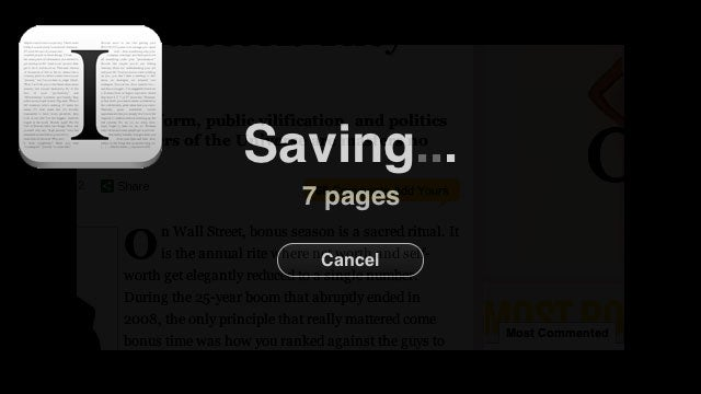 Instapaper Bookmarklet Now Saves Multi-Page Articles