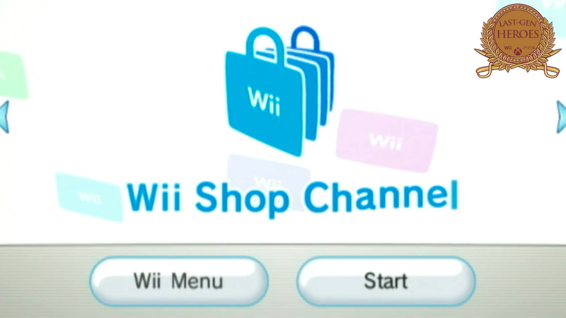 Last-Gen Heroes: Wii Shop Channel