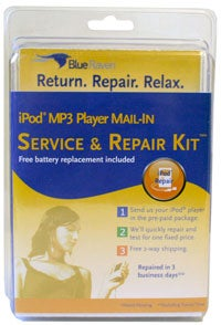 Give the Gift of No Confidence: Blue Raven iPod Repair in a Box