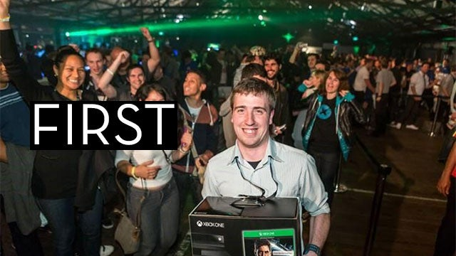 Here's The First Human To Buy An Xbox One