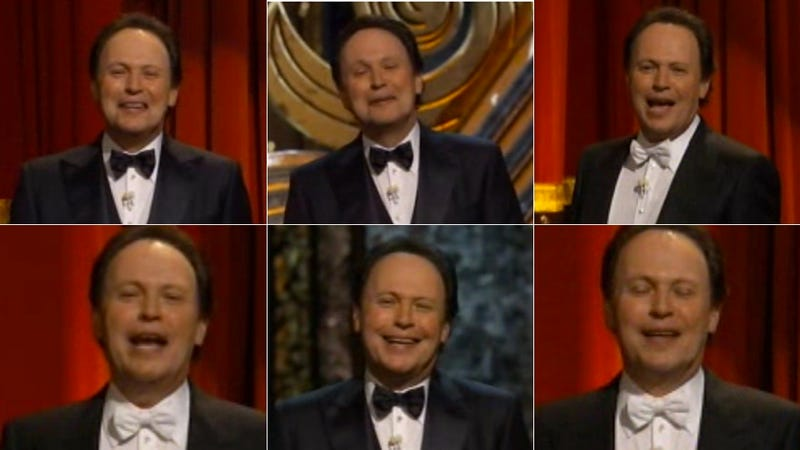 The Many Frozen Faces of Billy Crystal