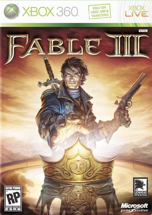 Fable III Box Art Proclaims 'Only On Xbox 360 & Windows'