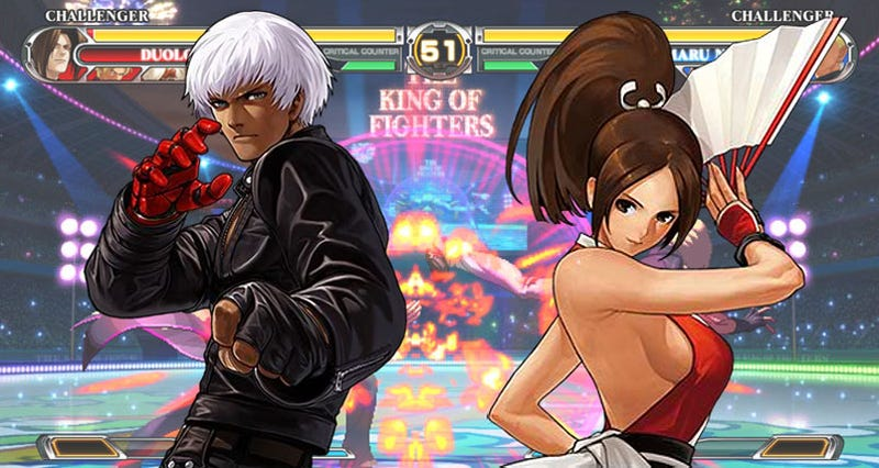 Are These Your New King Of Fighters XII Fighters?