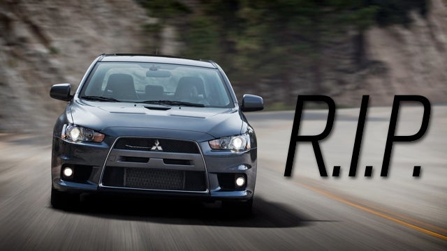 ​The Mitsubishi Evolution X Is Dead After The 2015 Model