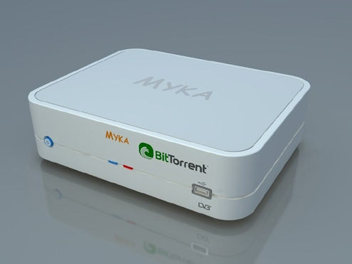 Myka Brings BitTorrent to Your TV