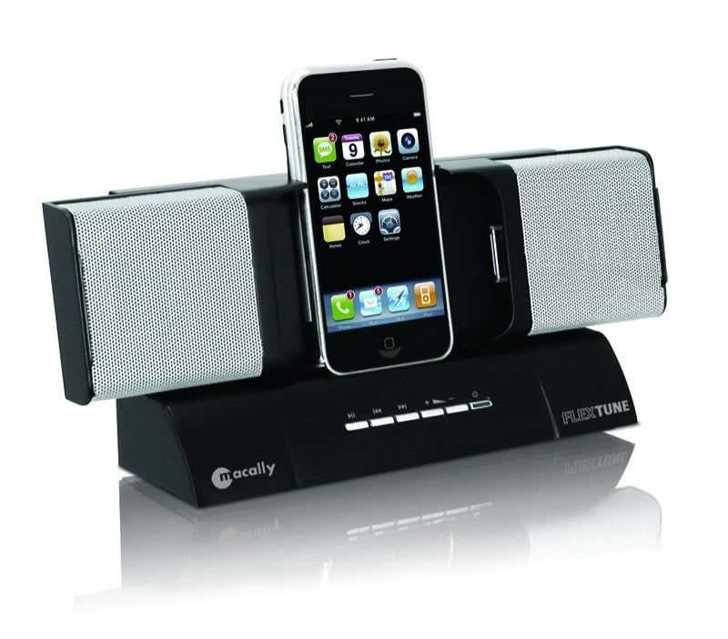 Macally FlexTune Dock Holds iPhone Sideways For Video Without the Neck Strain