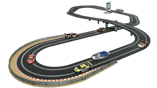 Impossible Slot Car Track Lets You Race More Than Two Cars At Once
