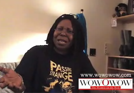 Whoopi's Weirdo Mom's Day Video