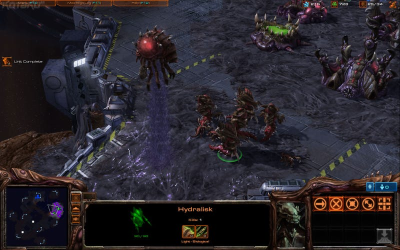 New Starcraft II Screens, With That Beta-Fresh Smell
