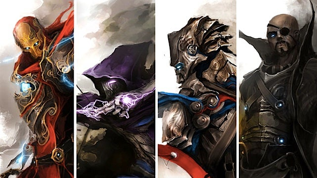In this rad fan art, The Avengers get the Dungeons and Dragons treatment