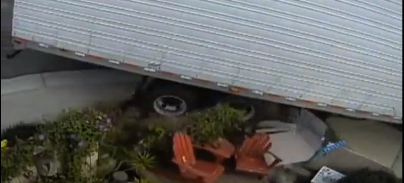 Truck Drivers Keep Destroying This Couple's Front Yard