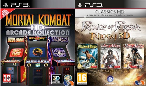 Rumor: Mortal Kombat, Prince Of Persia HD Collections Go 3D On PS3