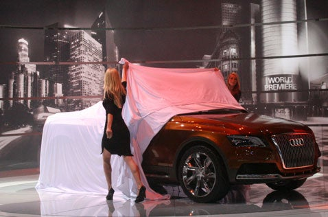 LA Auto Show: Audi Cross Cabriolet quattro Live Reveal